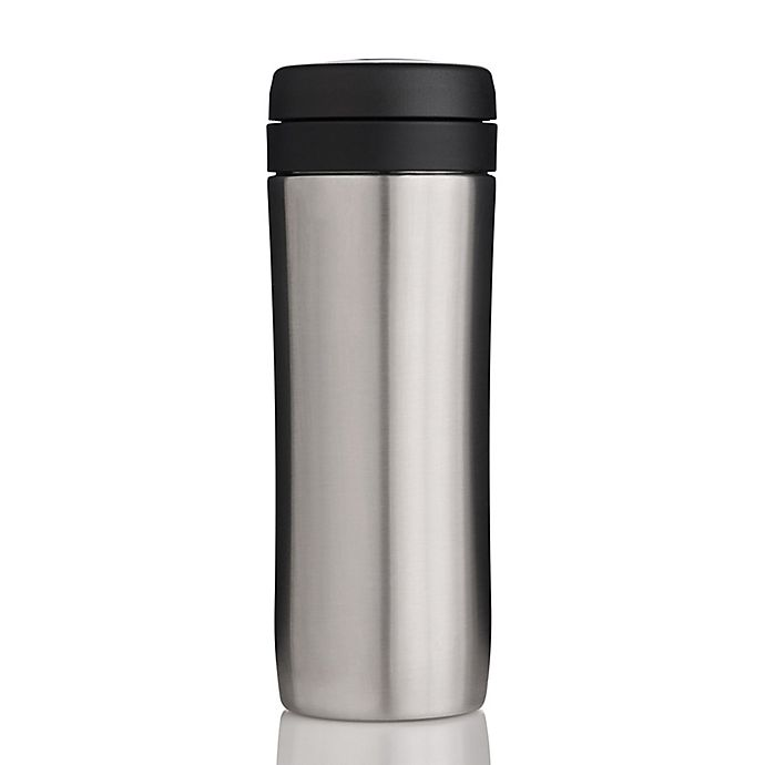 13966f52ac8 ESPRO 12 oz. Travel Tea Press in Stainless Steel | Bed Bath & Beyond