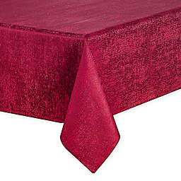 Waterford® Linens Lunar Tablecloth in Burgundy