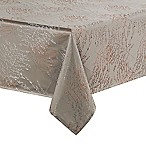 Waterford® Linens Timber 70-Inch x 84-Inch Oblong Tablecloth in Grey