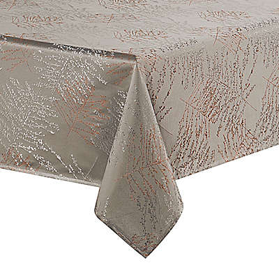 Waterford® Linens Timber Tablecloth in Grey