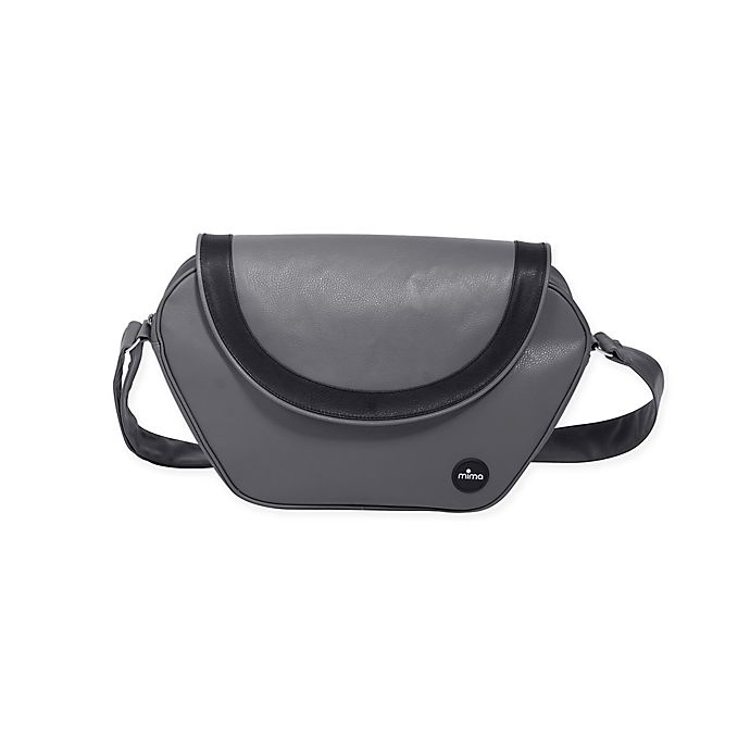 Alternate image 1 for Mima® Trendy Faux Leather Changing Bag in Cool Grey