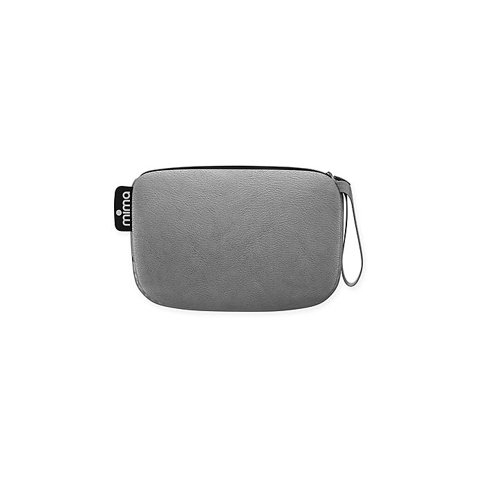 Alternate image 1 for Mima® Faux Leather Clutch in Argento