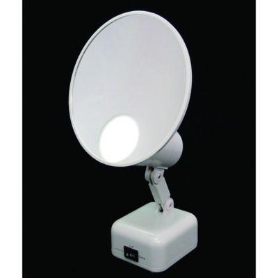 Floxite 15x Supervision Home And Travel, Floxite 10x Lighted Travel And Home Mirror