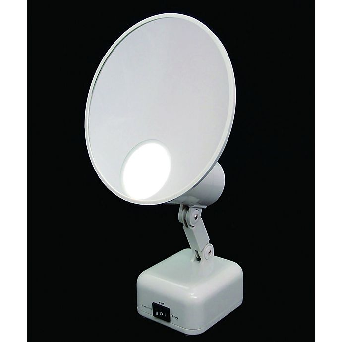 Alternate image 1 for Floxite 15x Supervision Home and Travel Makeup Mirror