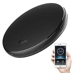 iLuv SmartShaker 2 Alarm Clock in Black