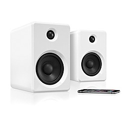 Innovative Technology™ Bluetooth® Wireless Bookshelf Speakers in White