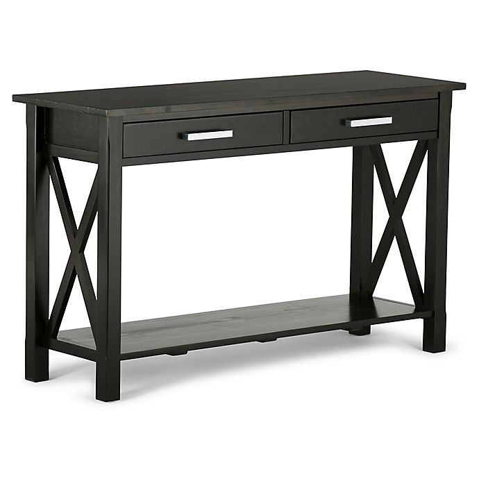 Alternate image 1 for Simpli Home Kitchener Console Sofa Table