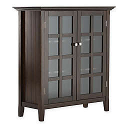 Acadian Pine 4-Shelf Storage Cabinet