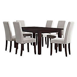 Simpli Home Acadian 7-Piece Dining Set