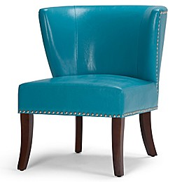 Jameston Bonded Leather Accent Chair