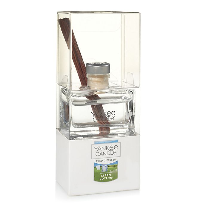 Alternate image 1 for Yankee Candle® Flowery Fragrances Signature Mini Reed Diffuser in Clean Cotton®