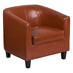 Flash Furniture 28-Inch Leather Reception Chair