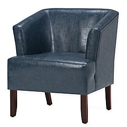 Longford Bonded Leather Tub Chair