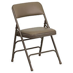 Flash Furniture 30-Inch Metal Folding Chair with Padded Seat
