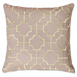 Thro by Mario Lorenz Tonianne Embroidered Geo Throw Pillow