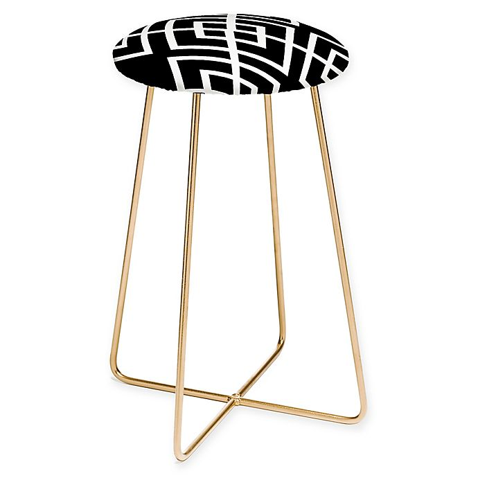 Admirable Deny Designs Inbetween Counter Stool In Black Bed Bath Caraccident5 Cool Chair Designs And Ideas Caraccident5Info