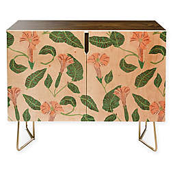 Deny Designs Desert Moonflower Credenza in Pink