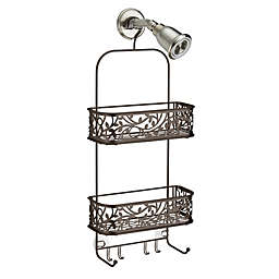 iDesign® Vine Shower Caddy in Bronze