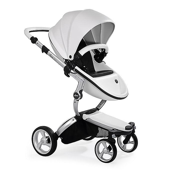 Alternate image 1 for Mima Xari Aluminum Chassis Stroller in White/Black
