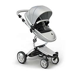 Mima Xari Aluminum Chassis Stroller in Argento/Black