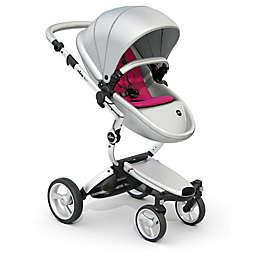 Mima Xari Aluminum Chassis Stroller in Argento/Magenta