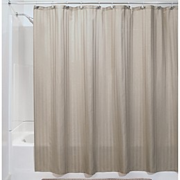 iDesign® Satin Stripe Shower Curtain Liner