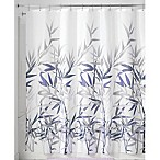 iDesign® Anzu 72-Inch x 72-Inch Shower Curtain in Purple
