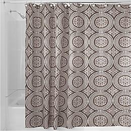 iDesign® Medallion Shower Curtain