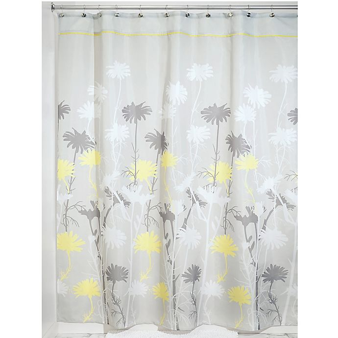 Alternate image 1 for iDesign® Daizy Shower Curtain