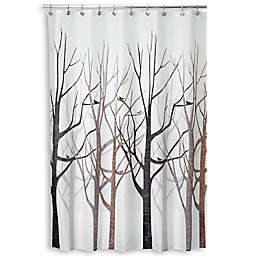 iDesign® Forest Shower Curtain