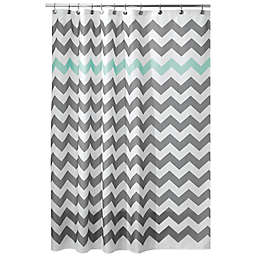 iDesign® Chevron Shower Curtain