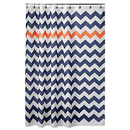 iDesign® Chevron Shower Curtain