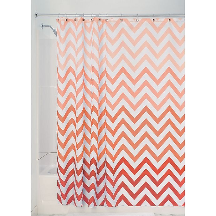 Alternate image 1 for iDesign® Ombre Shower Curtain