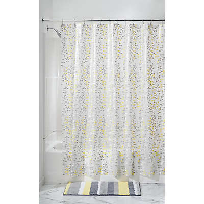 iDesign® Vine PEVA Shower Curtain in Grey