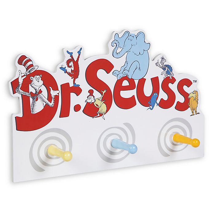 Alternate image 1 for Trend Lab® Dr. Seuss™ Friends Peg Hook Storage Rack