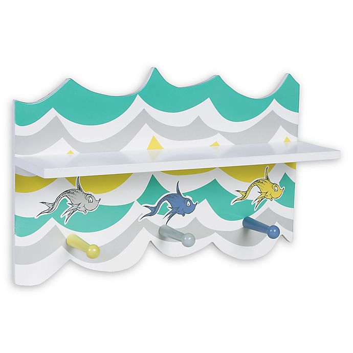 Alternate image 1 for Trend Lab® Dr. Seuss™ New Fish Wall Shelf