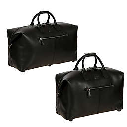 Bric's Varese Leather Cargo Duffle Bag