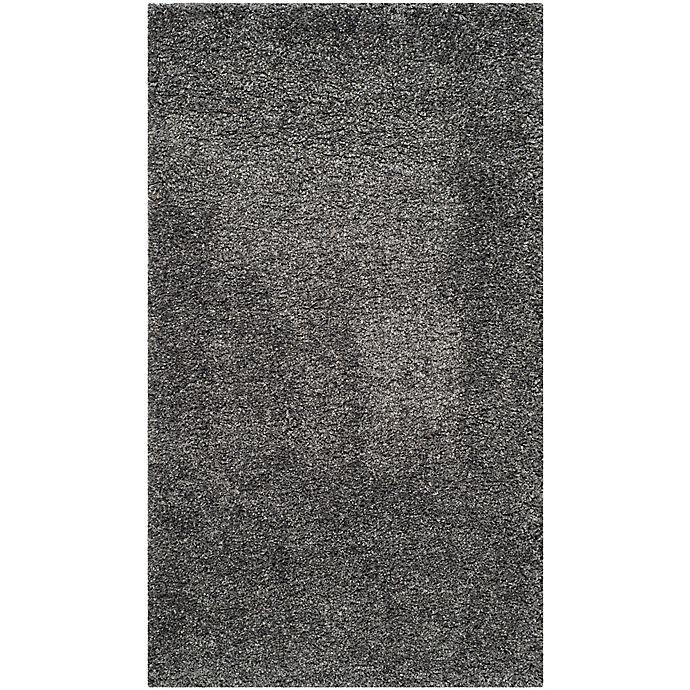 Alternate image 1 for Safavieh California Shag 3-Foot x 5-Foot Irvine Rug in Dark Grey
