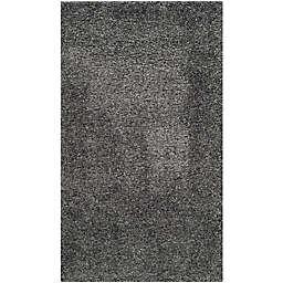 Safavieh California Shag 3-Foot x 5-Foot Irvine Rug in Dark Grey