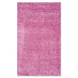 Safavieh California Shag 3-Foot x 5-Foot Irvine Rug in Pink