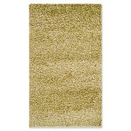 Safavieh California Shag 4-Foot x 6-Foot Irvine Rug in Green