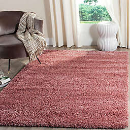 Safavieh California Irvine Shag 2'3 x 11' Runner in Red