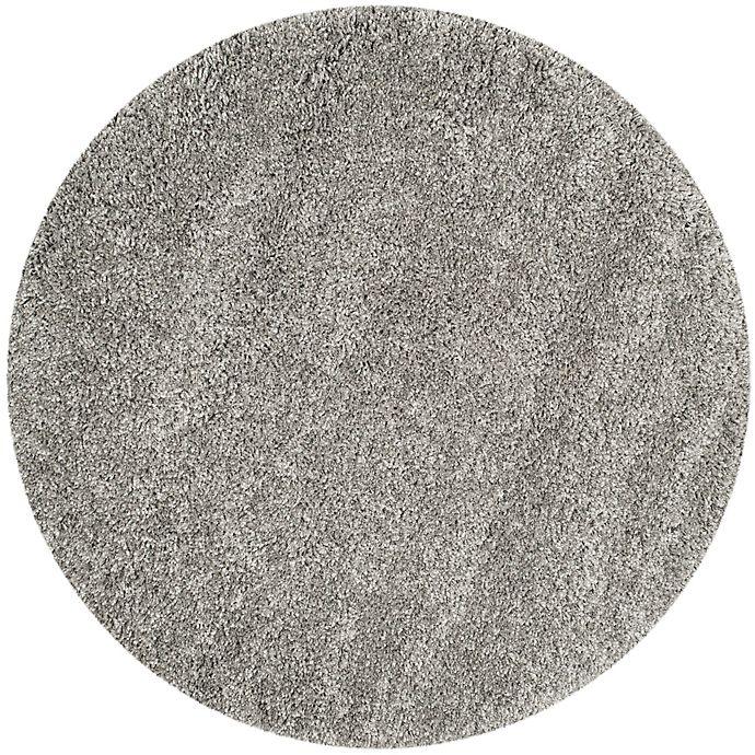 Alternate image 1 for Safavieh California Shag 6-Foot 7-Inch x 6-Foot 7-Inch Irvine Rug in Silver