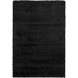 Safavieh California Shag 6-Foot 7-Inch x 9-Foot 6-Inch Irvine Rug in Black