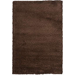 Safavieh California Shag 8-Foot 6-Inch x 12-Foot Irvine Rug in Brown