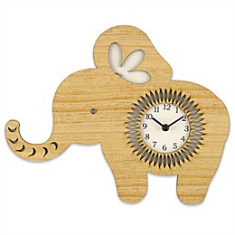 Sterling & Noble™ 15.5-Inch Elephant Wall Clock