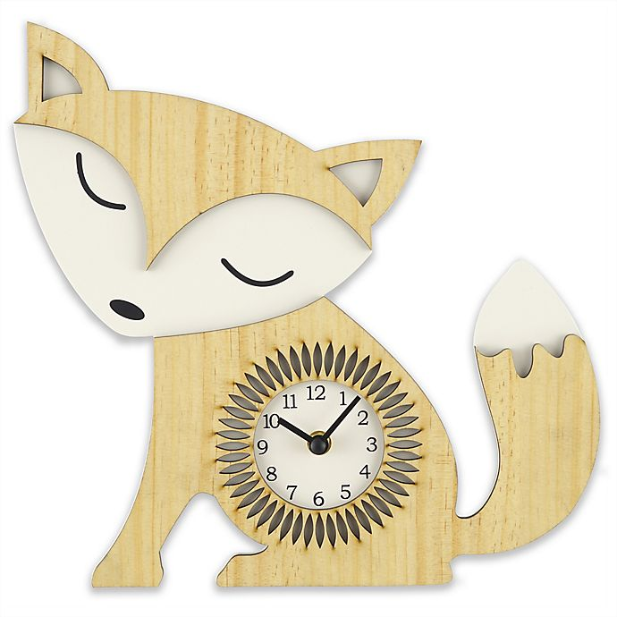 Alternate image 1 for Sterling & Noble Fox Wall Clock