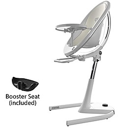 MIMA Moon 2G High Chair in White/White