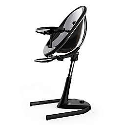 Mima® Moon 2G High Chair in Black/Silver