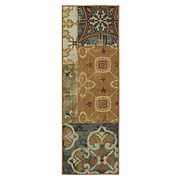 Mohawk Home Harmonic Patch 1-Foot 8-Inch x 5-Foot Multicolor Accent Rug
